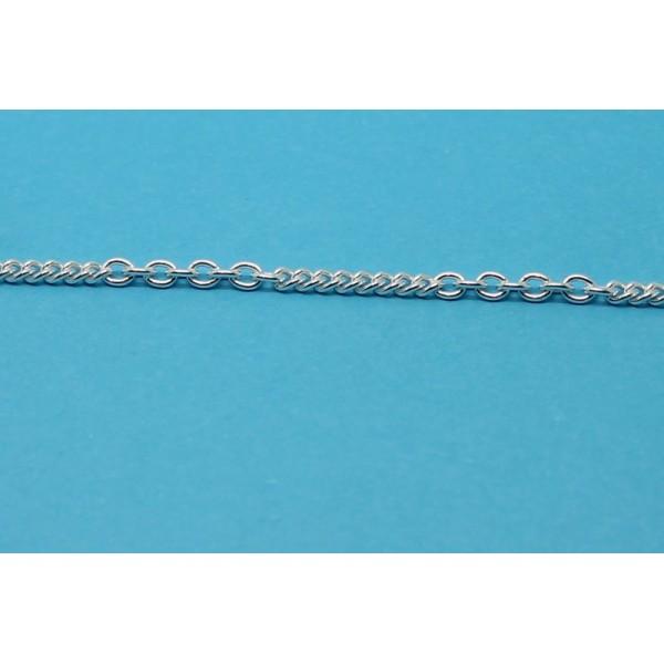 1 metre chaine laiton argentee venot fils - Chaine au metre ...