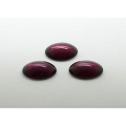 10 ovale amethyste 25x18
