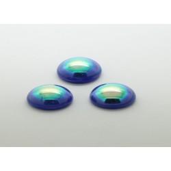 50 ovale bleu A/B 12x10