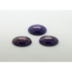 25 ovale bleu irise 18x13