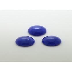50 ovale bleu pierre 14x10