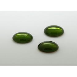 10 ovale olivine 25x18