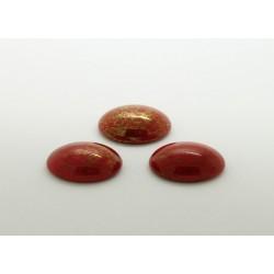 25 ovale rouge irise 18x13