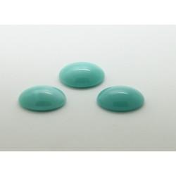 10 ovale turquoise 25x18
