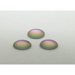 25 ovale vitrail clair mat 14x10