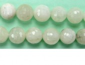 Perle Facettes Pierre de Lune 08mm - Fil de 40 Centimetres