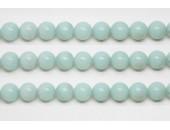 Perles en pierres amazonite 6mm - Fil de 40 Centimetres