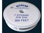 Fil acier gaine nylon 0.40mm / 330 metres