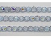 60 perles verre facettes alexandrite A/B 5mm