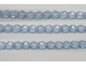60 perles verre facettes alexandrite 4mm