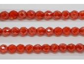60 perles verre facettes jacinthe lustre 5mm