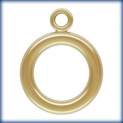 2 Anneaux de fermoir 12mm 1/20 14K Gold Filled