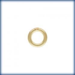 10 Anneaux fermes 5mm fil 1.00mm 1/20 14K Gold Filled