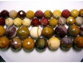 Perles Facettes Mookaite 4mm - Fil de 40 Centimetres