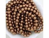 135 nacrées bronze 12mm