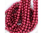 480 nacrées rubis fonce 6mm