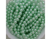 135 nacrées vert tilleul 12mm