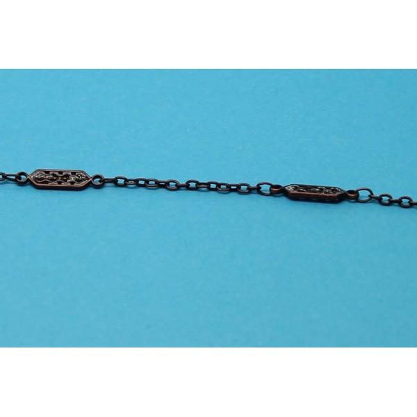 1 metre chaine laiton cuivre antique venot fils - Chaine au metre ...